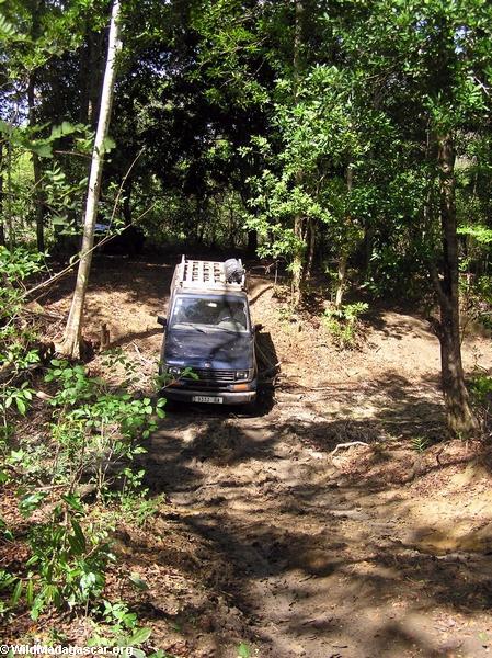 4-wheel drive offroading in Madagascar (Tsingy de Bemaraha)