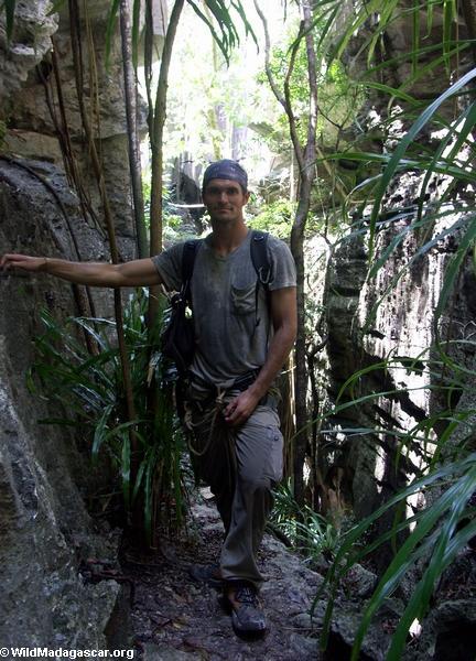 rhett tsingy canyon (Tsingy de Bemaraha)