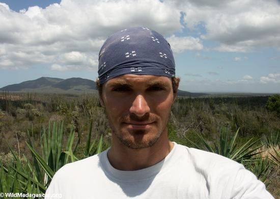 Rhett in spiny forest (Berenty)
