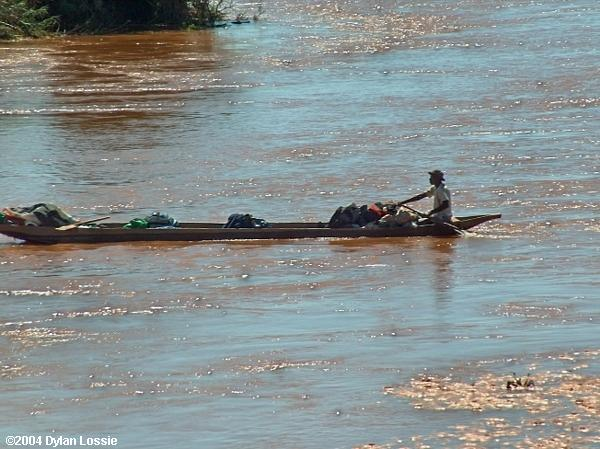 Tsiribihina River canoe (Tsiribihina River canoe)