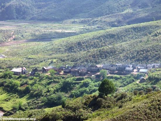 Ifasina village; aerial view (Ifasina / Antoetra)