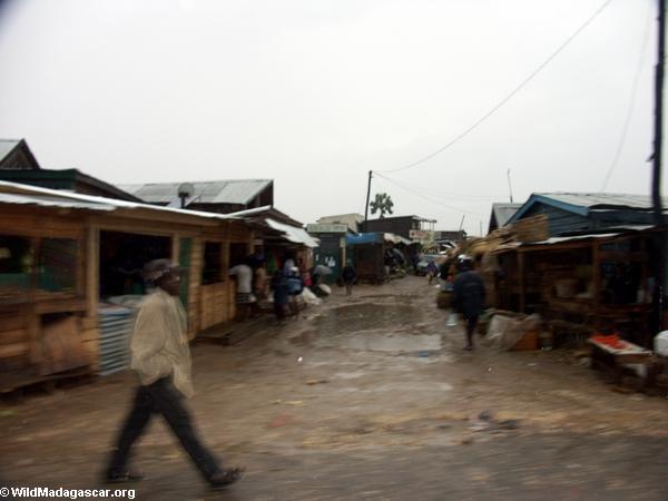 Ilakaka; saphire mining town (Isalo)