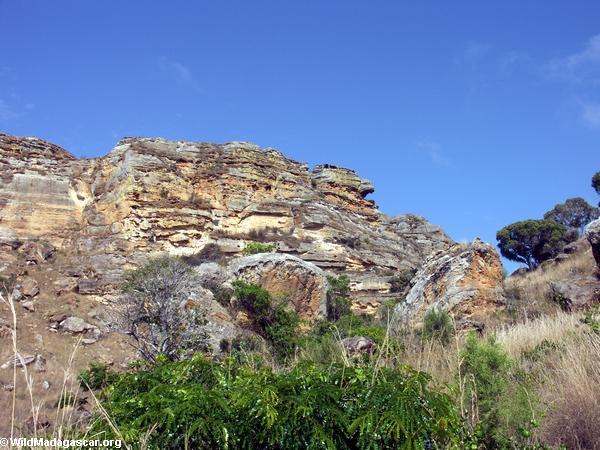 Turtle rock in Isalo (Isalo)
