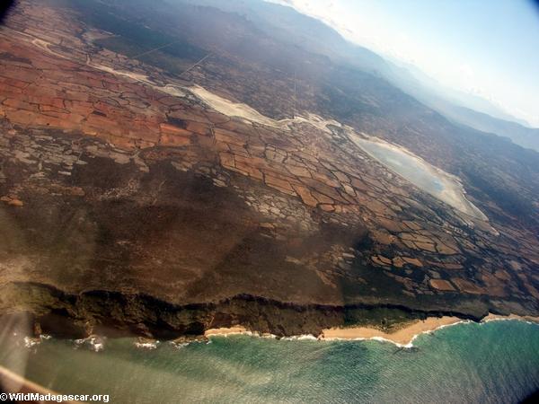 Southern Madagascar coastline (Ft. Dauphin)