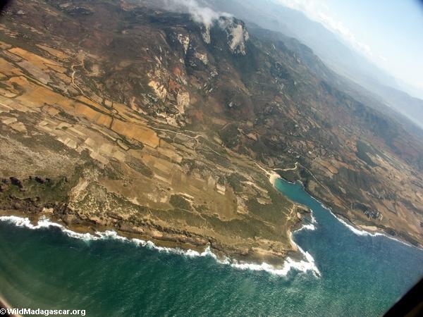 Coastline near Tolagnaro in southern Madagascar (Ft. Dauphin)
