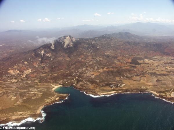 Coast near Tolagnaro in southern Madagascar (Ft. Dauphin)