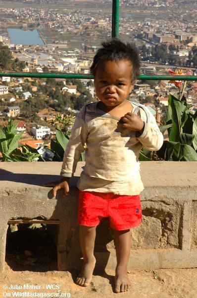 Kind in Tana