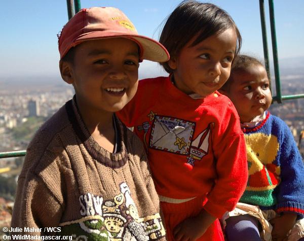 Kinder in Tana