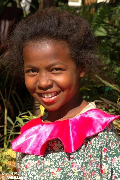 Madagassisches Mädchen