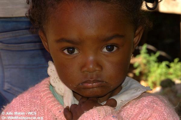Madagassisches Kind