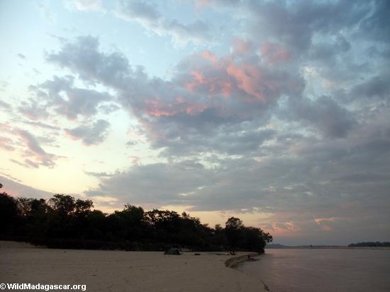 Sunset at Manambolo River (Manambolo)