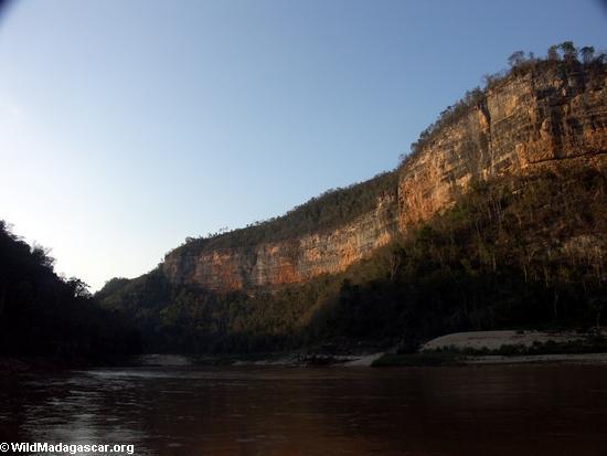 Manambolo River canyon(Manambolo)
