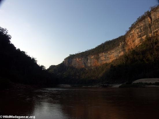 Manambolo Flußschlucht