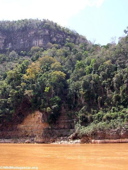 Manambolo River canyon (Manambolo)
