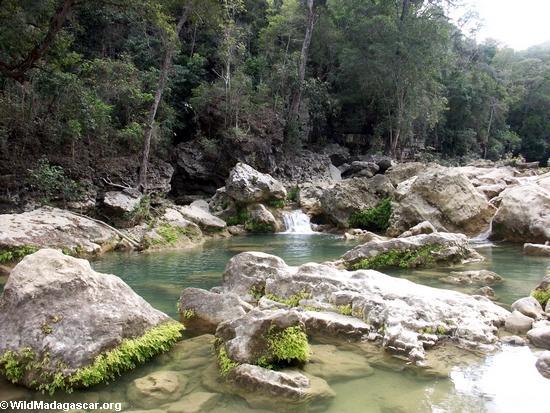 Oly canyon creek(Manambolo)