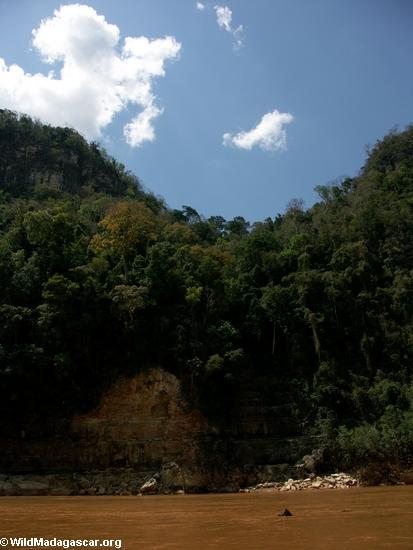 Manambolo canyon waterfall (Manambolo)