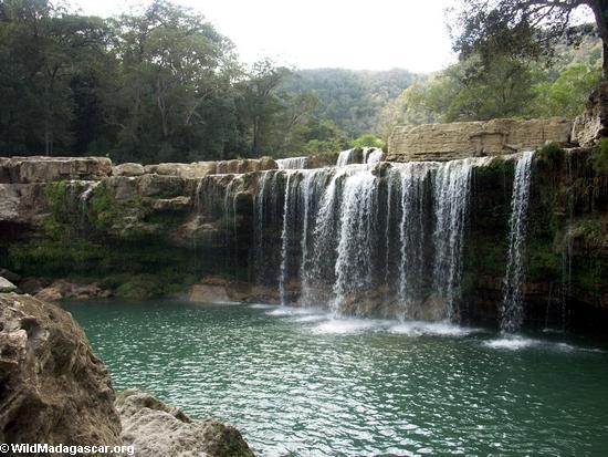 Waterfall on Oly creek(Manambolo)