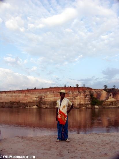 Sakalava boy near Manambolo River(Manambolo)