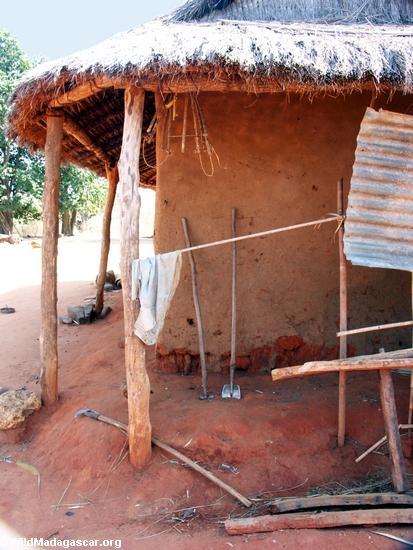 Tsianaloka Werkzeuge, kurz-angefaßte Schaufel