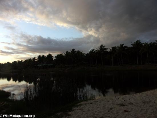 Sunset west of Maroantsetra (Maroantsetra)