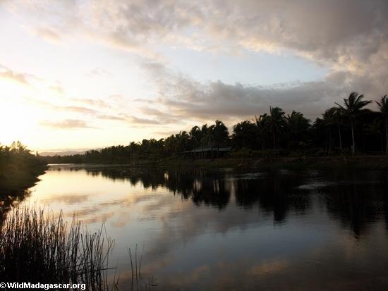 Sunset near Maroantsetra (Maroantsetra)
