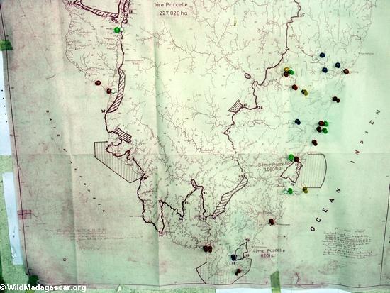 Карта masoala национальный парк
