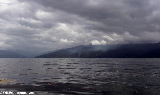 Fires on the Masoala peninsula  (Masoala NP)