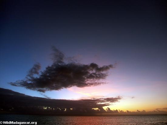Tamplo Sunset (Masoala NP)