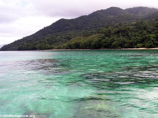 Sparkling waters near Tampolo marine reserve (Masoala NP)