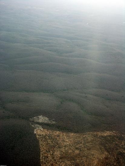 Deforestation of dry forest in southwestern Madagascar (Tulear)