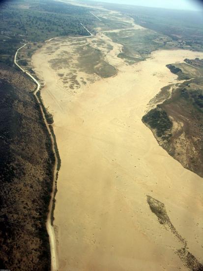 Riverbed near Tulear (Tulear)