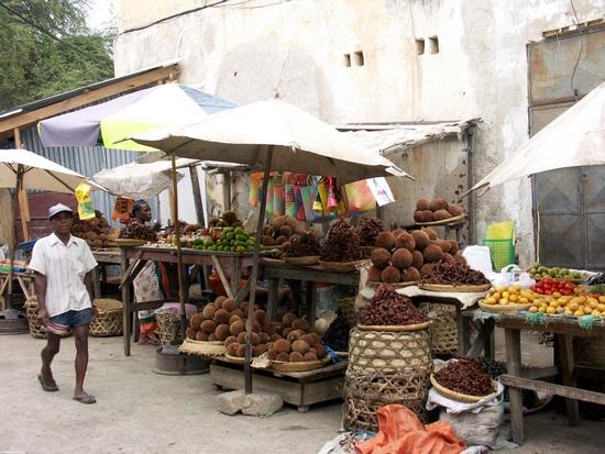 Fruit market in Tulear (Tulear)