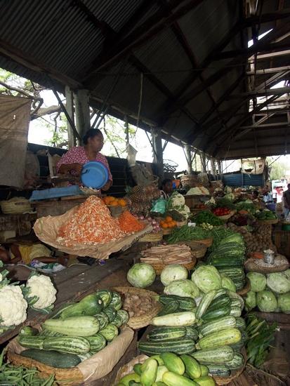 Vegetable market in Tulear (Tulear)