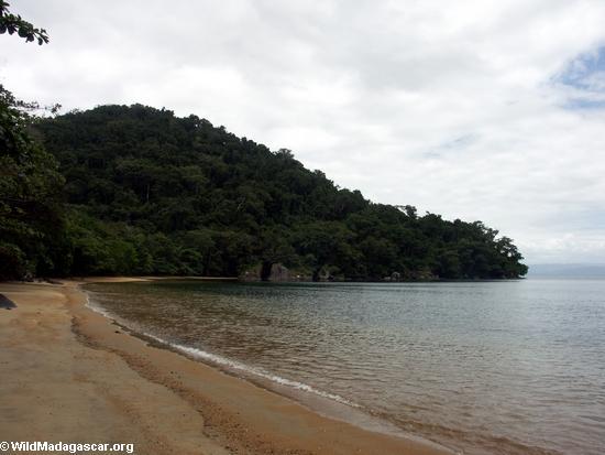 Strand auf Nosy Mangabe