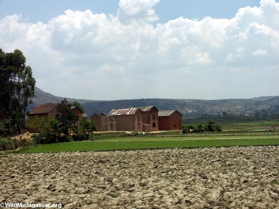 Rice fields of Malagasy highlands (RN7) [tana-rano_0100]