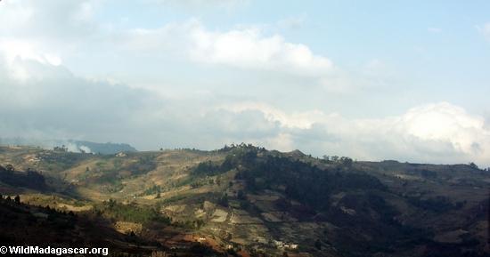 Countryside along road from Fianarantsoa (RN7)