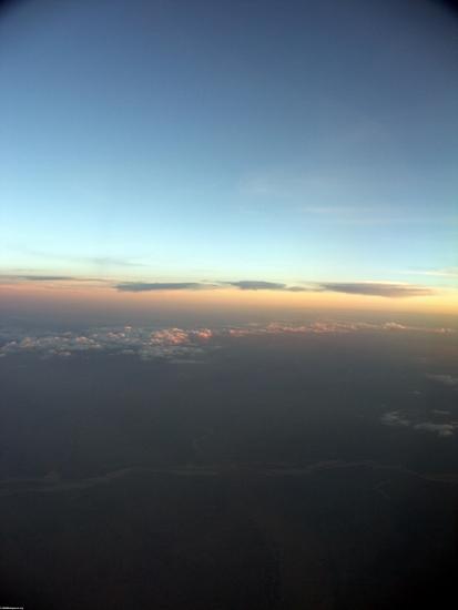 Закат над высокогорной Мадагаскара
