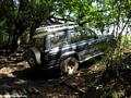 4-wheel driving in Madagascar (Tsingy de Bemaraha)
