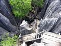 petite tsingy ladder (Tsingy de Bemaraha)