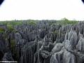 tsingy top view (Tsingy de Bemaraha)