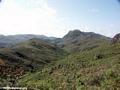 Tavy deforestation, bare hillsides (Ifasina / Antoetra)