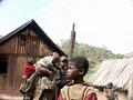 Zafimaniry children in Ifasina (Ifasina / Antoetra)