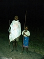 Bara father and daughter near Isalo NP (Isalo)