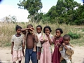 Children near Isalo (Isalo)