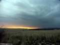 Approaching storm at sunset in Isalo (Isalo)
