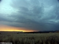 Approaching storm at sunset in Isalo (Isalo) [isalo_sunset1125a]