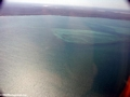 Aerial view of coral reef near Tulear (Tulear)