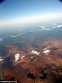 Aerial view of deforestation and erosion in southern Madagascar (Isalo) [tulear_ftdau_flight0155]