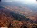 Aerial view of deforestation and erosion in southern Madagascar (Isalo) [tulear_ftdau_flight0158]