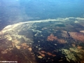 Aerial view of deforestation and erosion in southern Madagascar (Isalo) [tulear_ftdau_flight0168]